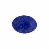 Cabouchon Glass 18/13mm Oval Lapis Lazuli